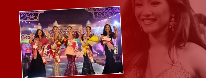 Wincy represents NWU and wins 4th runner-up in Miss Laoag City Pamulinawen 2019