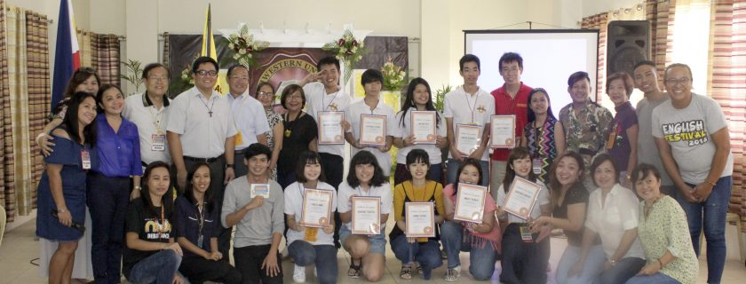 NWU hosts English Camps for Japanese students from Keiai University