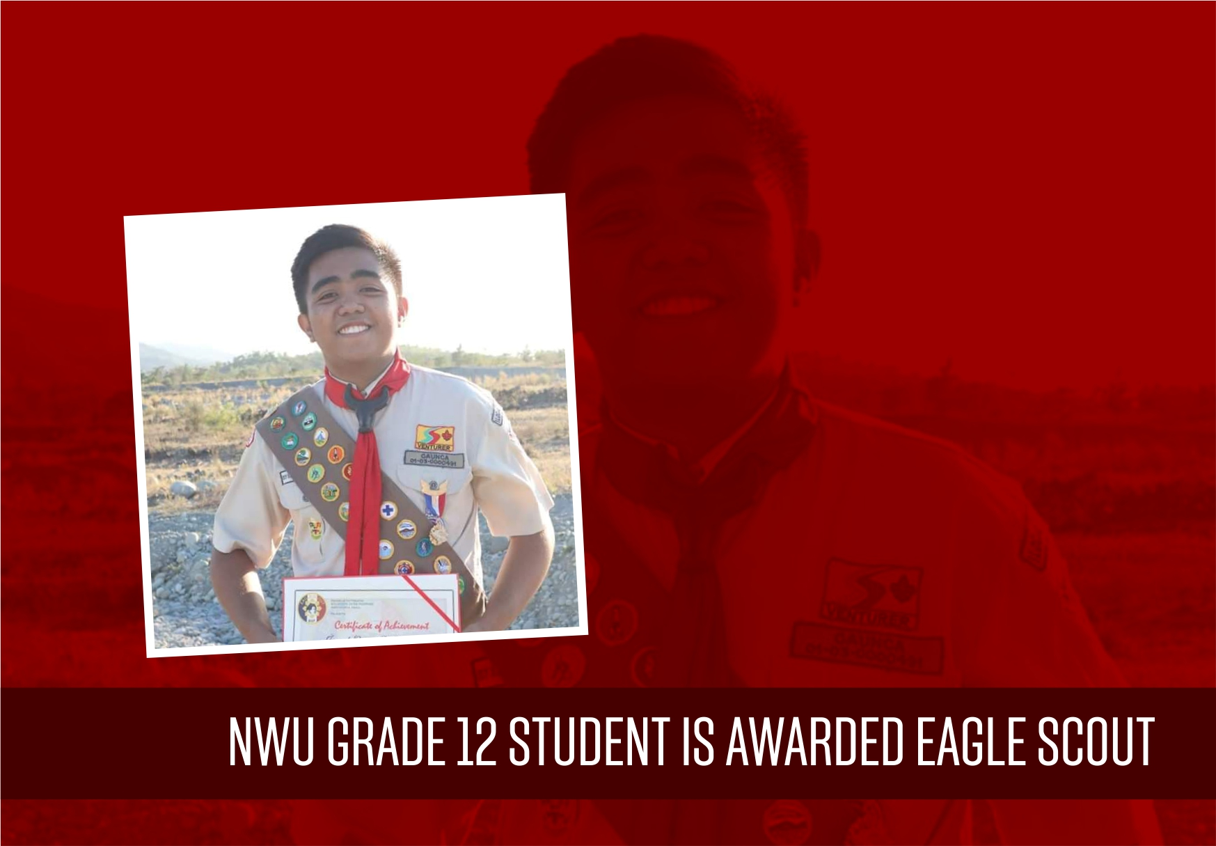 Jezreel Larry Caunca: The First Eagle Scout in Ilocos Norte after 14 years