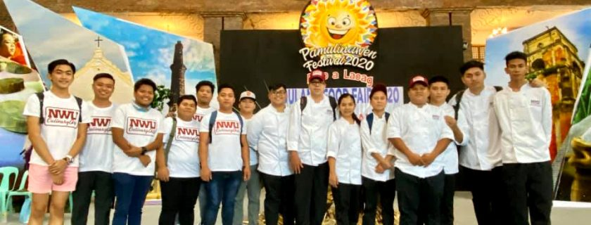 NWU Culinary Arts joins Dulang Food Fair 2020