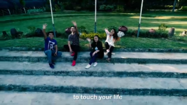 Angela Kate feat. Saguday Chorale – Touch Your Life (official music video 2020) NWU